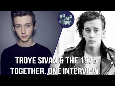 FULL INTERVIEW: Troye Sivan and The 1975's Matt Healy. Together. IN THE SAME INTERVIEW!