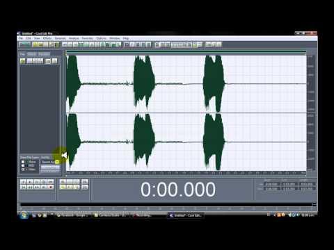 Tutorial,Cool Edit Pro 2.0-Modulador de voz.