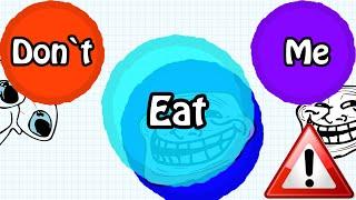 "AGARIO TROLLING IN TEAMMODE // ""DON'T EAT ME"" // BEST Agar.io TROLL EVER"