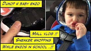 duhop Call Animal control trouble at home & Mall vlog sneaker shopping for son