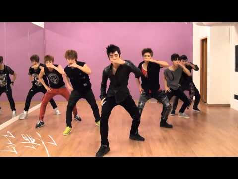 100% - Bad Boy mirrored Dance Practice 2