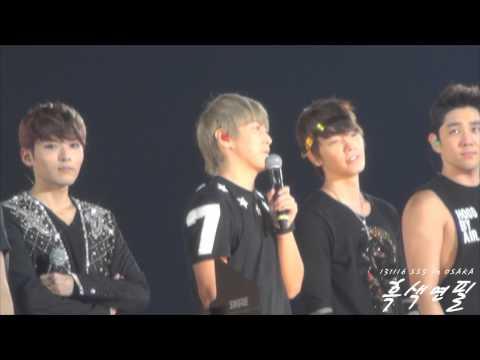 [Fancam] 131116 SS5 Osaka, Sungmin 's encole ment ♥