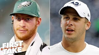 Carson Wentz or Jared Goff: Which QB would you rather have? | First Take
