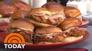 Make Shaquille O'Neal's 'Shaq Daddy Chicken' Sandwich | TODAY