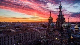 Санкт Петербург с высоты. Saint Petersburg from the hight.