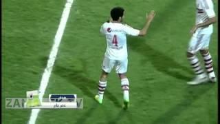 اهداف مباراة الزمالك و سانجا -