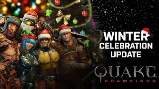 Quake Champions launches Winter Celebration news image