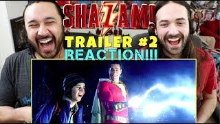 SHAZAM! - Official TRAILER #2 - REACTION!!!
