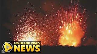 Hawaii Eruption: New Lava Arrives, Activity Increases (May 18, 2018)