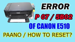 Canon Pixma G2000 Counter Reset - Wesley Ooi
