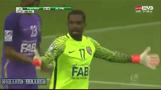 اهداف مباراة العين والفجيرة 4 2 كأس رئيس الدولة اليوم 12 4 2018 حسين ...