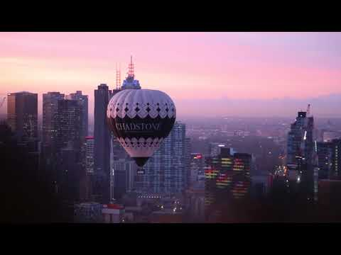video Melbourne City Balloon Flight
