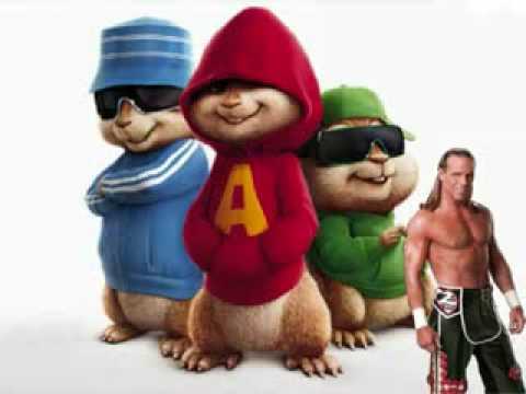 Cancion de Shawn Michaels por Alvin y las Ardillas-Sougar DJ