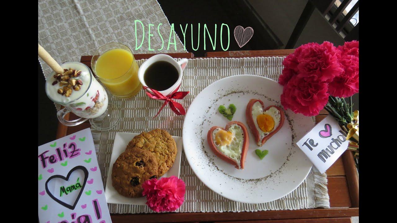 Imagenes De Desayunos Para El Dia De La Madre