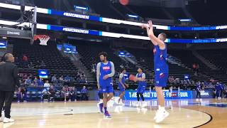KU competes in open practice ahead of 2019 NCAA tourney