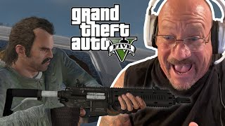 Ex-Jewel Thief Larry Lawton Plays GTA V for the First Time