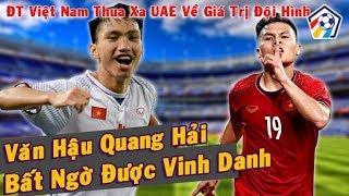 Bóng đá hôm nay 05/11: Việt Nam UAE..Đoàn Văn Hậu và Quang Hải vinh danh I Nhịp Đập Bóng Đá