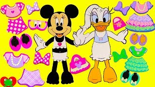 Minnie Mouse and Daisy Fashion Dress Up Mix and Match Wrong Clothes