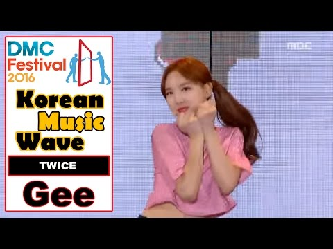 [Korean Music Wave] TWICE - Gee, 트와이스 - Gee 20161009