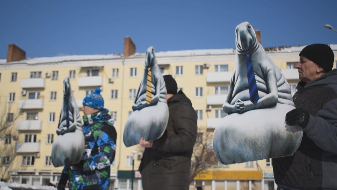 Ростов: акция протеста дольщиков превратилась в церемонию награждения