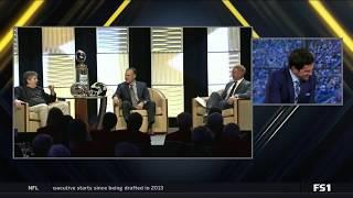 Washington State's Mike Leach gives wedding advice to USC Matt Leinart. FOX; CFB