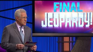 Jeopardy! James Holzhauer Day 28 Final Jeopardy 5/27/19 Episode 186