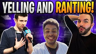 DARK MODE Ranting and Yelling with DrLupo, CourageJD, and BasicallyIDoWrk pt. 1