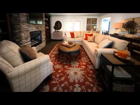 The Blackmons - Family Room Makeover by Bassett Furniture