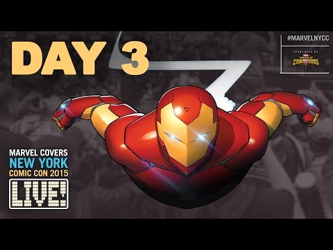 Marvel LIVE! at New York Comic Con 2015- Day 3