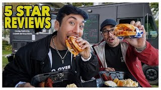 Eating At The BEST Reviewed Food Truck In My City (5 Star)
