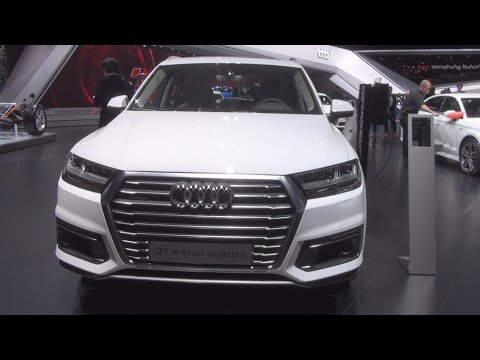 Audi Q7 e-tron 3.0 Quattro Tiptronic 275 kW (2016) Exterior and Interior in 3D