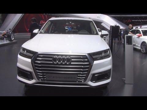 Audi Q7 e-tron 3.0 Quattro Tiptronic 275 kW (2016) Exterior and Interior in 3D