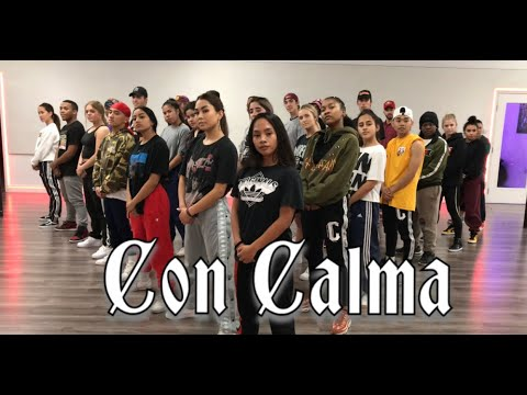 Daddy Yankee & Snow - Con Calma | Official video Rehearsal | Greg Chapkis Choreography