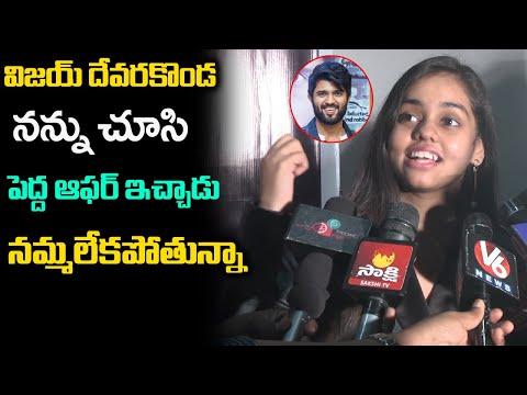 Indian Idol singer Shanmukha Priya praises Vijay Deverakonda for song offer