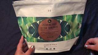 REVIEW- This Is L. Chlorine Free Ultra Thin Natural Organic Period Products