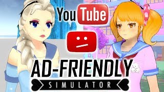 How to Make Yandere Simulator Advertiser Friendly (Frozen & Kawaii Mods)