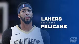 Lakers Vs Pelicans Live Pregame with DTLF!