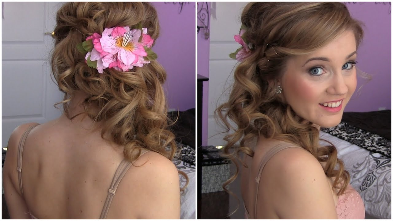 Easy DIY Prom HAIR TUTORIAL