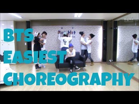 BTS EASIEST CHOREOGRAPHY