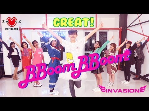 MOMOLAND (모모랜드) - BBoom BBoom DANCE COVER BY INVASION