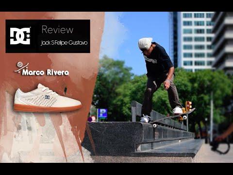Marco Rivera prueba las DC Jack S 'Felipe Gustavo' en Sants