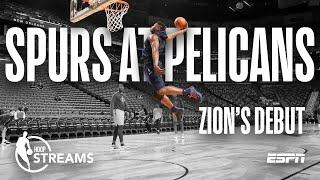 Hoop Streams: Previewing Zion Williamson's NBA Debut | ESPN