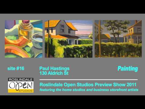 Preview Show, Roslindale Open Studios