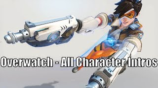 Overwatch - All Character Intros (2018 update)
