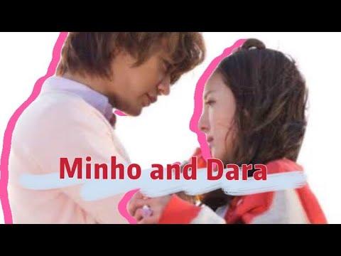 Shinee's Minho &  2ne1's Dara
