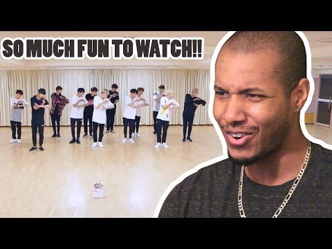 [CHOREOGRAPHY VIDEO] SEVENTEEN(세븐틴)-울고 싶지 않아(DON'T WANNA CRY) FRONT VER. REACTION
