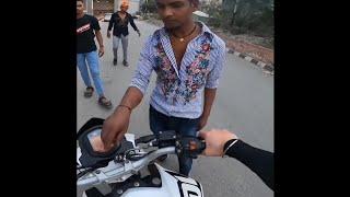 road range india fight