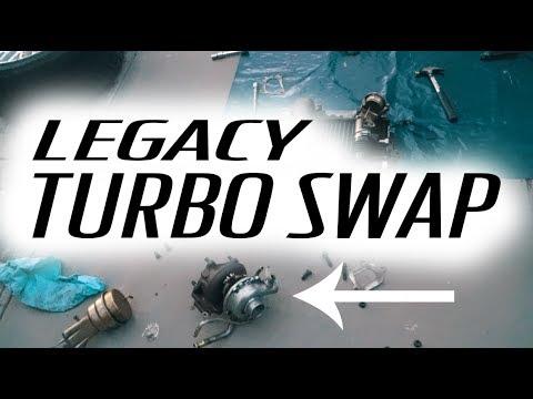 SUBARU LEGACY SHOW CAR BUILD EP 7 // Turbo Swap