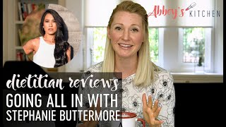 Dietitian Reviews Stephanie Buttermore's ALL IN Videos | Hypothalamic Amenorrhea
