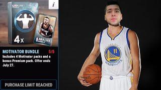 NBA Live Mobile - Insane Elite Pulls!!! (New Bundles)